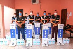 Prefeitura realizou entrega de equipamentos para combate da COVID-19 – Divulgação