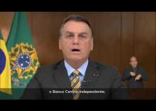 Presidente Jair Messias Bolsonaro  Pronunciamento à Nação - 02/06/2021