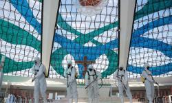 Catedral de Brasília passa por descontaminação
