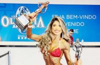 Imperatrizense conquista terceira colocação em campeonato  internacional de fisiculturismo
