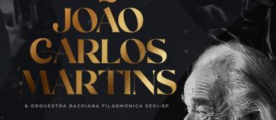 Maestro João Carlos Martins e Bachiana Filarmônica Sesi em concerto único - 27 de setembro - Teatro Gazeta