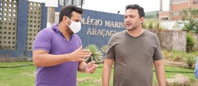 Yglésio anuncia soluções para melhoria do trânsito na Estrada do Araçagi