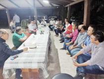 Com Dimas, empresários debatem anel viário em Colinas e recuperação da TO-335
