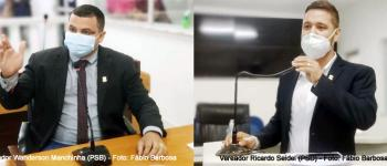 Terceirização dos serviços de saúde e contratação  de empresa para realização de palestras  no município são assuntos da Tribuna