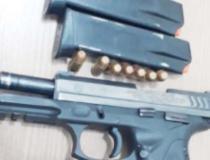Em Araguaína, Polícia Civil prende homem em flagrante por posse ilegal de arma de fogo com numeração raspada e ocultação de carregadores