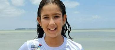 Sofia Duailibe é ouro no Norte-Nordeste de Águas Abertas