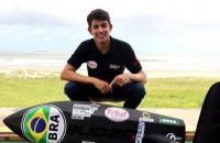 Maranhense Bruno Lima, do Time Fribal, disputa a Copa Brasil de Vela
