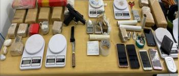 Polícia Civil prende traficantes de drogas e apreende grande quantidade de entorpecentes no Recanto do Vinhais