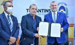 Governador Mauro Carlesse e ministro Onyx Lorenzoni assinam convênio de R$ 7,9 milhões para ampliar o Programa de Aquisição de Alimentos