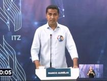 Marco Aurélio se destaca em debate com discurso propositivo e firmeza nas propostas para Imperatriz