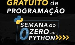 Curso gratuito sobre Python oferece 10 mil vagas