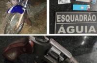 Polícia Militar prende dupla com arma de fogo em Balsas