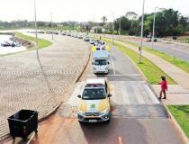 Carreata alerta sobre responsabilidade do cidadão no trânsito em Araguaína