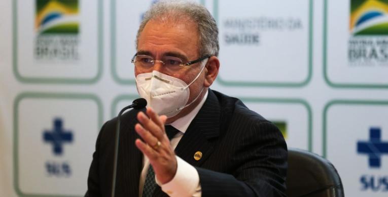 Ministro diz que 160 milhões serão vacinados até dezembro