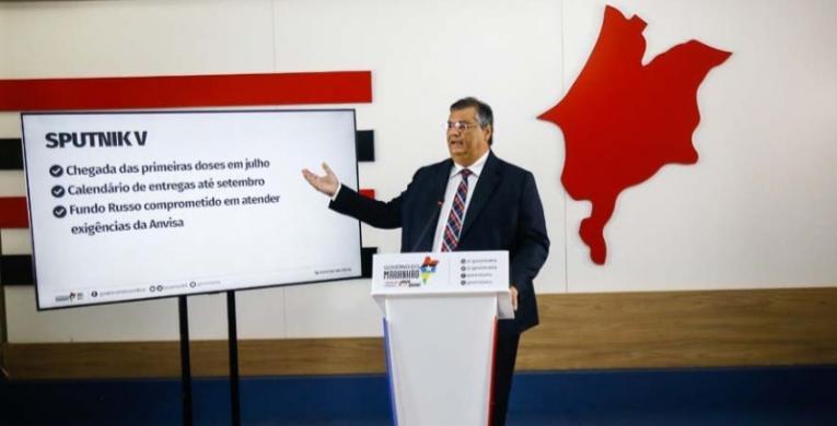 Governador anuncia prêmio por vacinação e destaca avanço na campanha contra a Covid-19