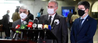 Queiroga, Pazuello, Araújo e mais 11 passam à condição de investigados na CPI