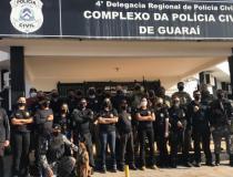 Operação Tiphon da Polícia Civil do Tocantins resulta na prisão de várias pessoas envolvidas com o tráfico de drogas em Guaraí
