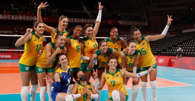 Brasil vence Quênia e pega o Comitê Russo nas quartas em Tóquio