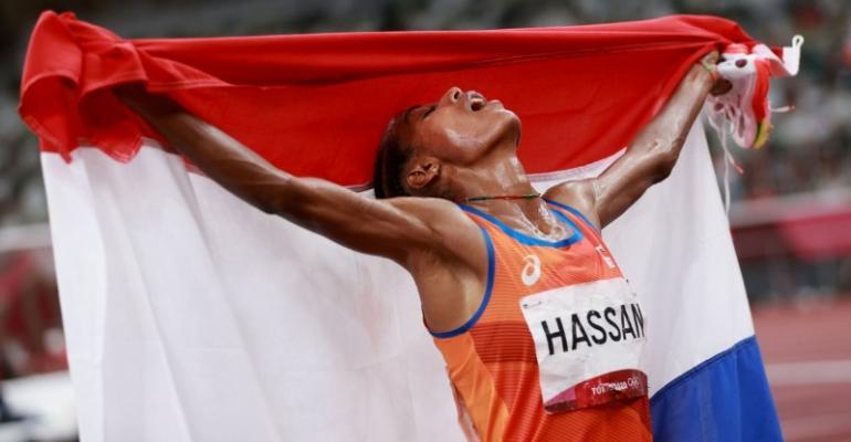 Hassan inicia busca por 3 ouros em Tóquio com vitória nos 5 mil metros