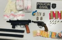 Operação da Polícia Civil desmonta esquema de tráfico de drogas na capital e interior do Maranhão