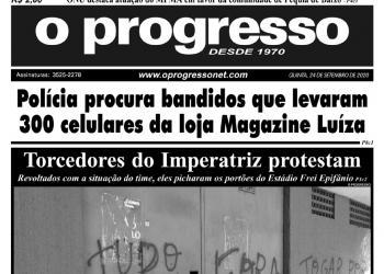O PROGRESSO - 24 de setembro de 2020