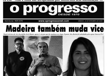 O PROGRESSO - 26 de setembro de 2020