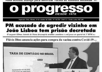 O PROGRESSO - 24 de outubro de 2020