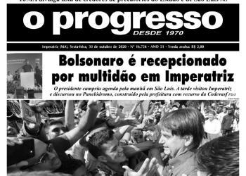 O PROGRESSO - 30 de outubro de 2020