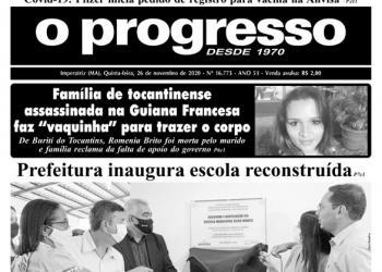 O PROGRESSO - 26 de novembro de 2020