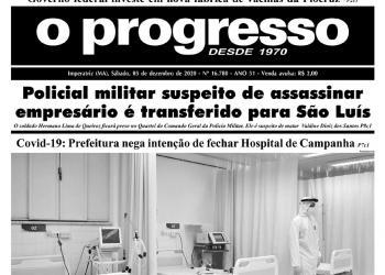 O PROGRESSO - 05 de dezembro de 2020