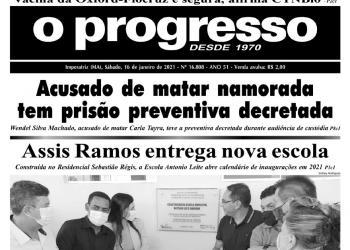 O PROGRESSO - 16 de janeiro de 2021