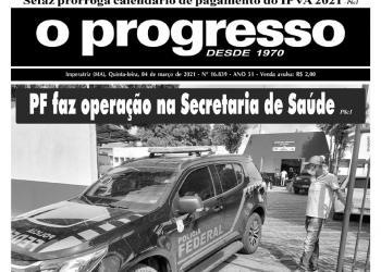 O PROGRESSO - 04 de março de 2021