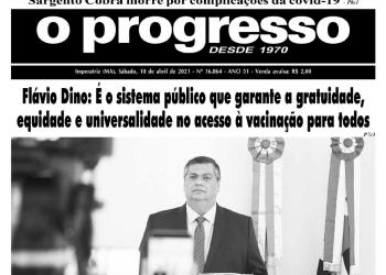 O PROGRESSO - 10 de abril de 2021