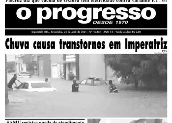 O PROGRESSO - 23 de abril de 2021