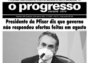 O PROGRESSO - 14 de maio de 2021