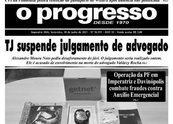 O PROGRESSO - 18 de junho de 2021