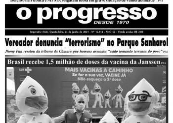 O PROGRESSO - 23 de junho de 2021