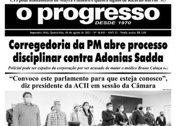 O PROGRESSO - 04 de agosto de 2021