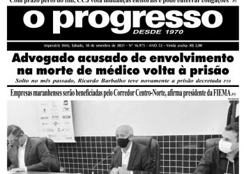 O PROGRESSO - 18 de setembro de 2021