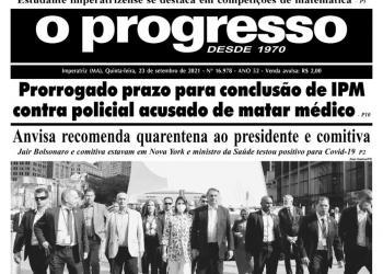 O PROGRESSO - 23 de setembro de 2021