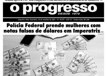 O PROGRESSO - 24 de setembro de 2021