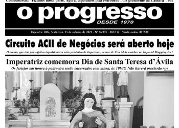 O PROGRESSO - 15 de outubro de 2021