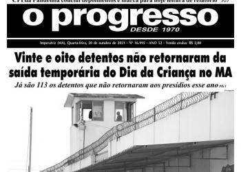 O PROGRESSO - 20 de outubro de 2021