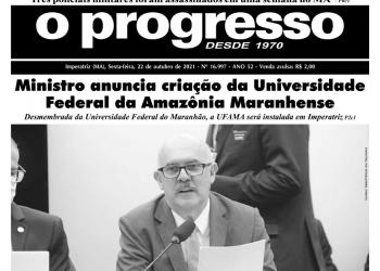 O PROGRESSO - 22 de outubro de 2021