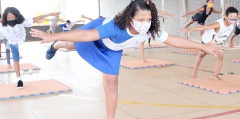 Educadores físicos do Município de Araguaína fazem aulas especiais durante pandemia