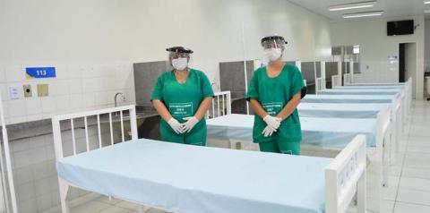 Hospital de Campanha do município segue com atendimentos em Imperatriz
