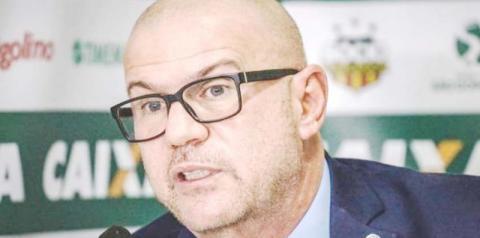 """Presidente do Sampaio, após eliminação na Copa do Brasil: """"Vou tomar as medidas"""""""