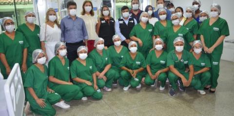Prefeitura de Porto Franco entrega leitos de UTI e enfermarias para receber pacientes com Covid-19