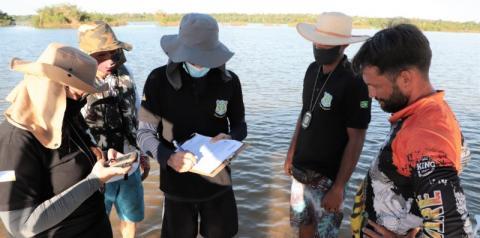 Fiscalização Ambiental de Araguaína garante preservação ecológica das praias do Garimpinho