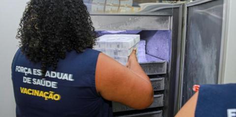 Maranhão recebe 226.820 novas doses de imunizante contra Covid-19